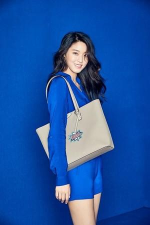 AOA's Seolhyun for Hazzys Accessories 'COLORED HAZZYS WONDERLAND'