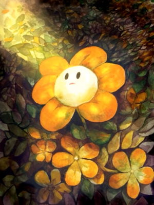 Adorable Flowey the ফুল অনুরাগীদের শিল্প