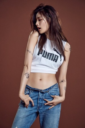 After School's Nana for PUMA