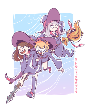 Akko, Lotte and Sucy