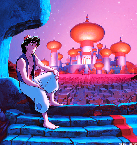 Disney Prince Hintergrund called Aladin