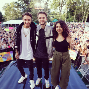 Alessia, Liam and Zedd