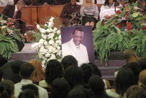 Ali Woodson's Funeral In 2010
