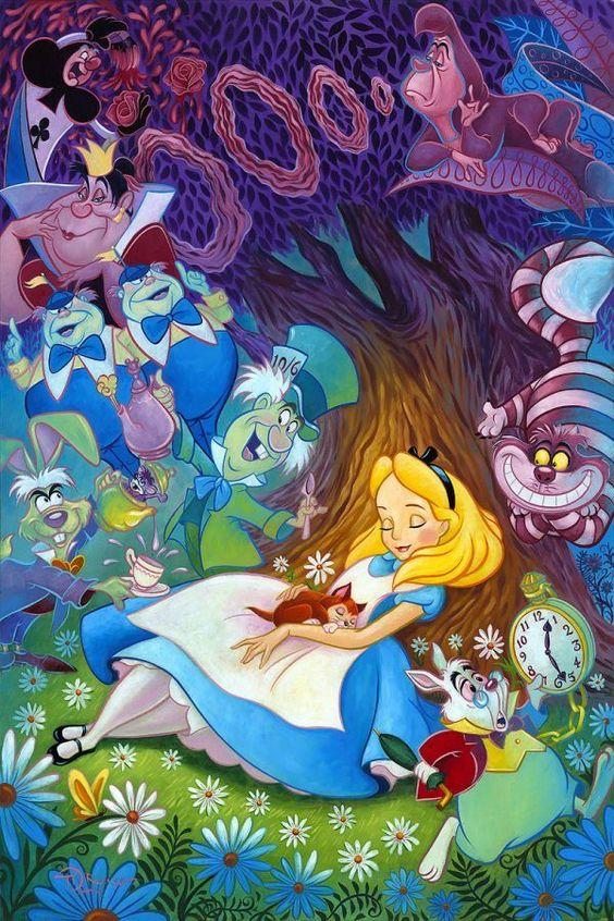 Alice ở Xứ sở thần tiên hình nền titled Alice in Wonderland