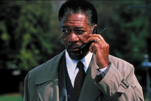 morgan Freeman karatasi la kupamba ukuta entitled Along Came A buibui