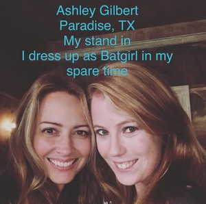 Amy Acker and Ashley Gilbert