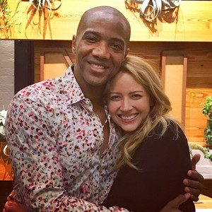 Amy Acker and J. August Richards