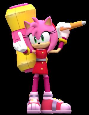 Amy Rose The Hedgehog Animiert 2