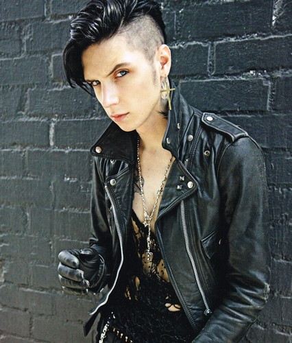 Andy Sixx wallpaper entitled Andy Biersack