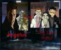 Angelus Vs The Dark Hand - buffy-the-vampire-slayer fan art