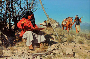 Apache Basket Weaver By david Nordahl