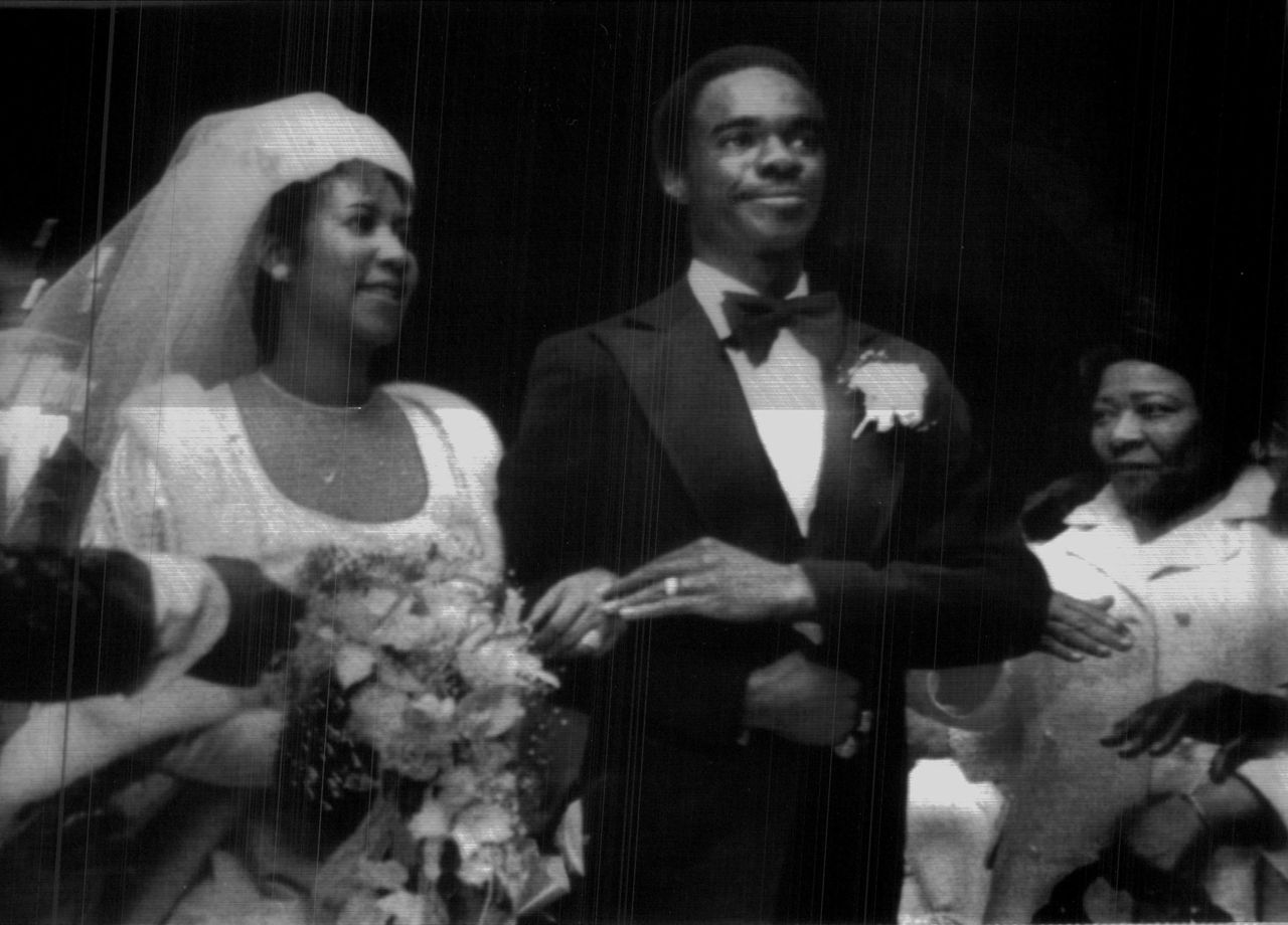 Aretha Her Wedding hari In 1978