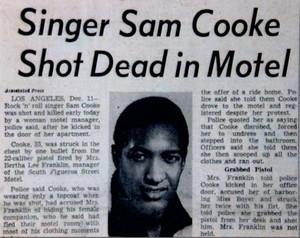 artikel To Shooting Of Sam Cooke
