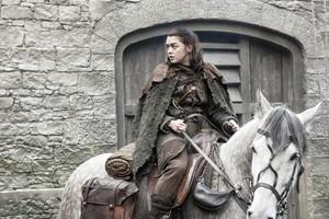 Arya Stark 7x02 - Stormborn