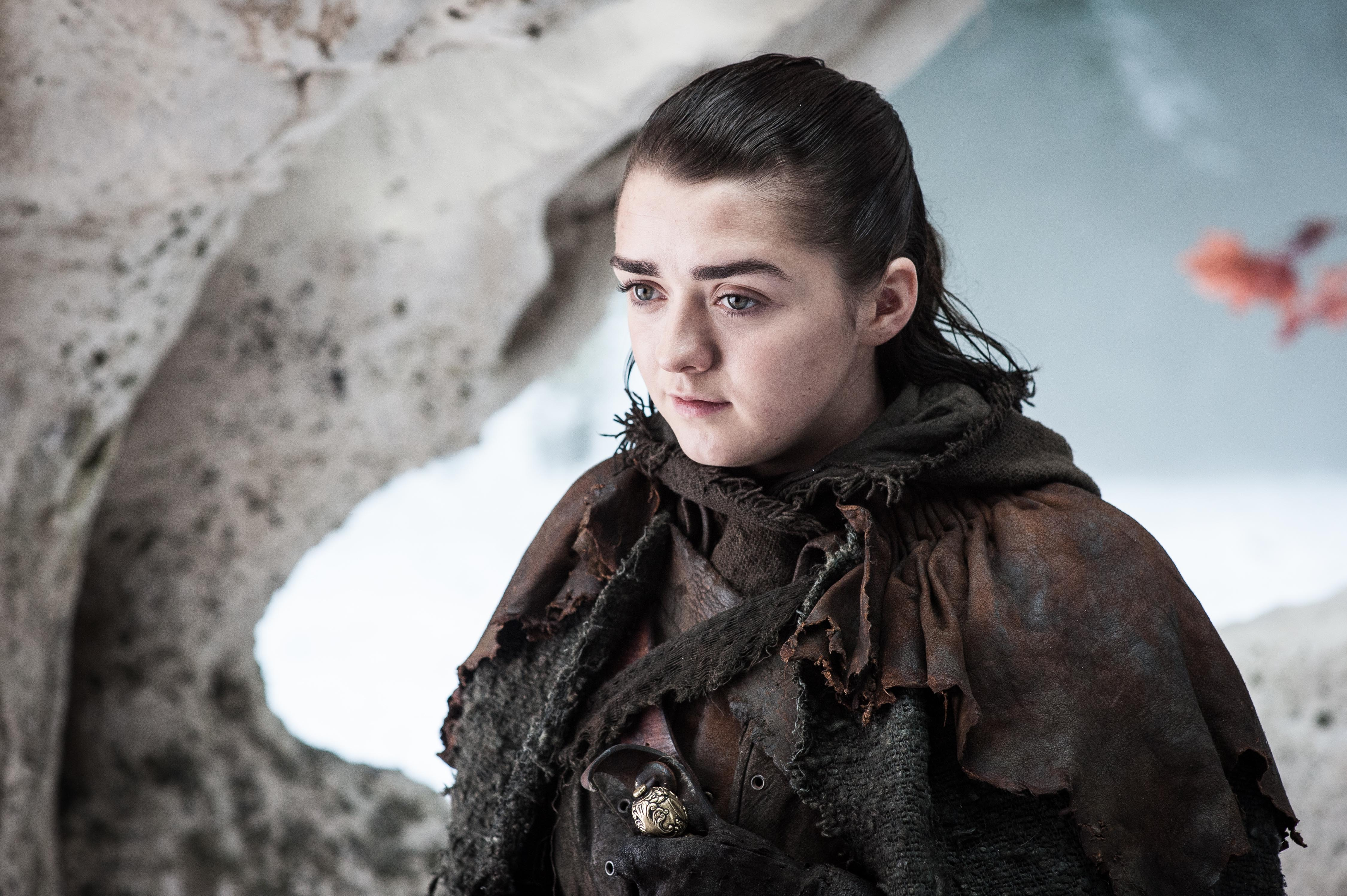 Arya Stark 7x04 - The Spoils of War