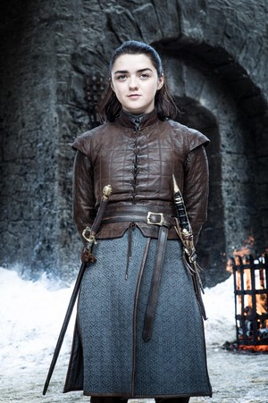 Arya Stark 7x04 - The Spoils of War