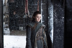 Arya Stark 7x06 - Beyond the uithangbord