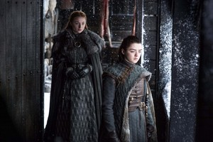 Arya and Sansa