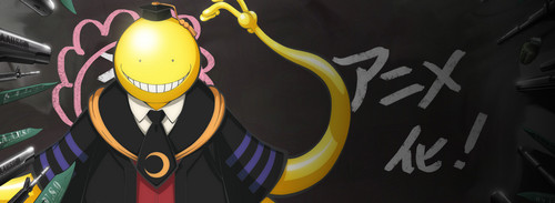 Assassination Classroom karatasi la kupamba ukuta titled Assassination Classroom