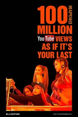 BLACKPINK – 'AS IF IT'S YOUR LAST' M/V HITS 100 MILLION visualizzazioni