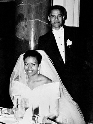 Barack And Michelle's Wedding