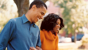 Barack And Oprah Winfrey