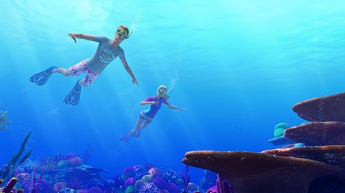 Barbie Movies wallpaper titled Barbie Dolphin Magic Official Still