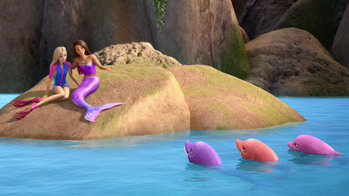 Barbie Movies wallpaper called Barbie Dolphin Magic Official Still