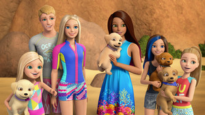 búp bê barbie cá heo Magic Official Still