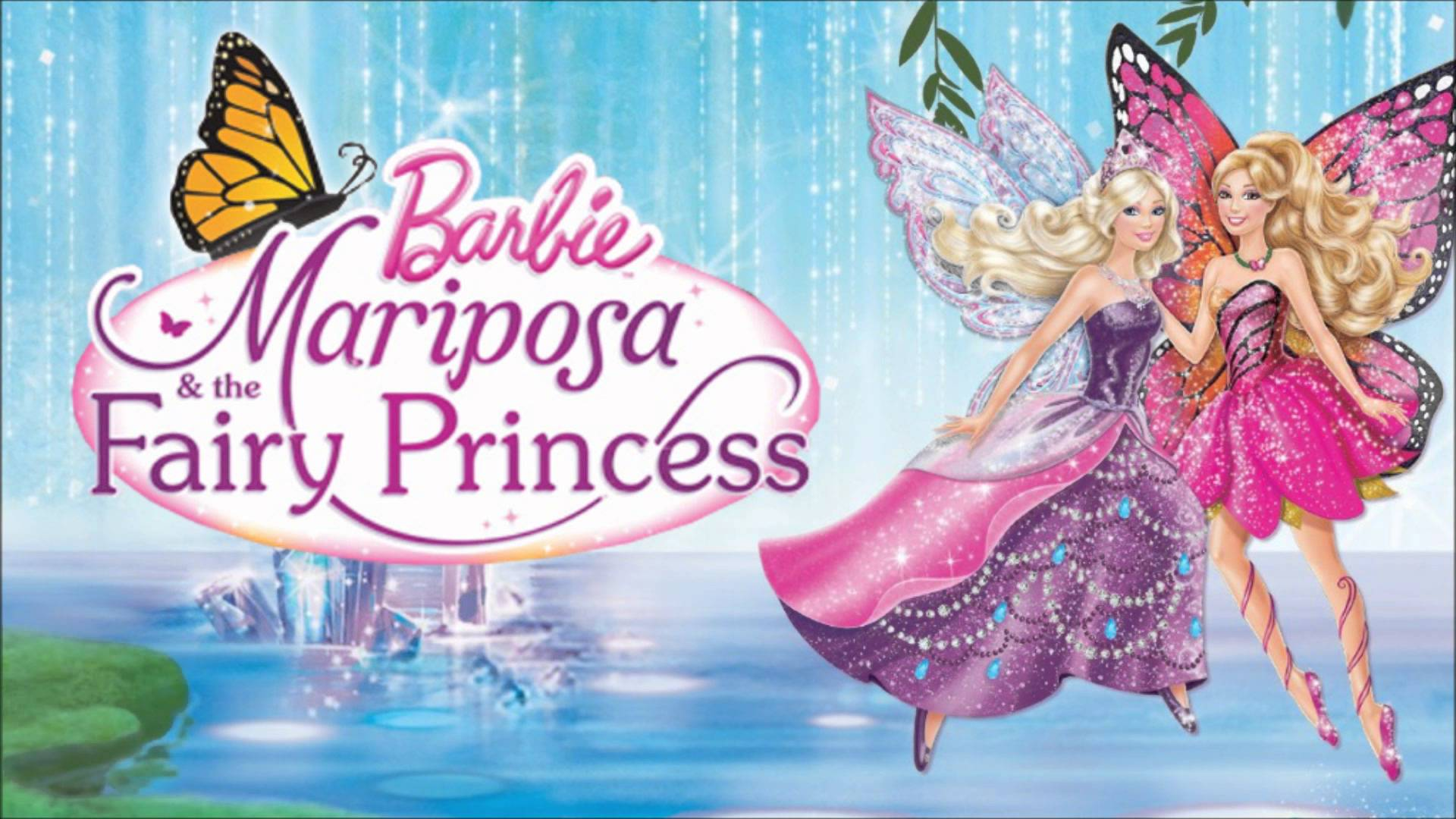 Halil4143 Wallpaperled Barbie Mariposa And The Princess