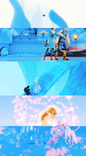 Sinema za Barbie karatasi la kupamba ukuta called Barbie and the Magic of Pegasus