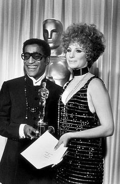 Barbra And Sammy Davis, Jr.