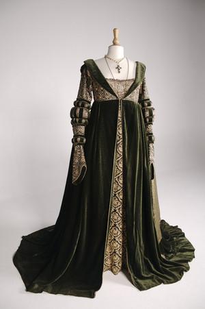 Baroness Rodmilla de Ghent's fancy green robe