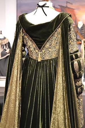 Baroness Rodmilla de Ghent's fancy green gown
