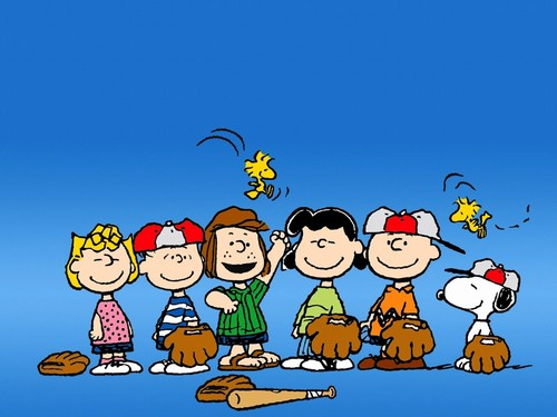 Peanuts wallpaper entitled Baseball
