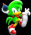 Bean The Dynamite Duck Animiert - sonic-the-hedgehog photo