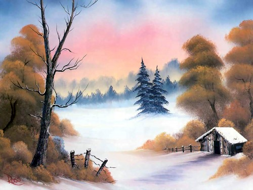 natal wallpaper entitled Beautiful Winter ❅