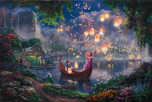 Beautiful Tangled Painting
