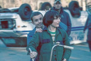 Behind the Scenes ~ Season 1 ~ Millie and Finn