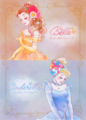 Belle and Cinderella - disney-princess photo