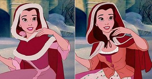Belle in LA Winter Dress