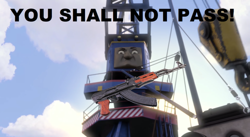 Thomas the Tank Engine wallpaper titled Beresford Meme