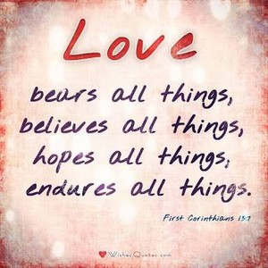 Bible Verses about Amore