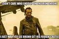 Bronn - game-of-thrones fan art