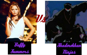 Buffy Summers Vs Shadowkhan Ninjas