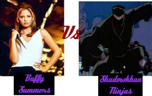 Buffy Summers Vs Shadowkhan Ninjas