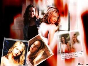 Buffy and Faith: Weakness