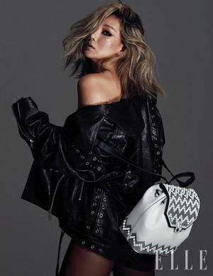 CL for ELLE Magazine September Issue