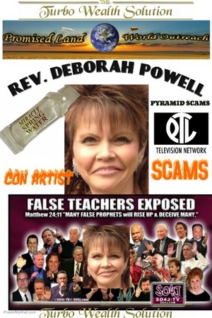 CROOKED REV. DEBORAH POWELL