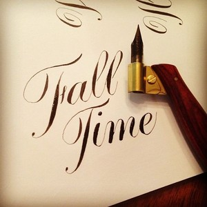 Calligraphy - Autumn